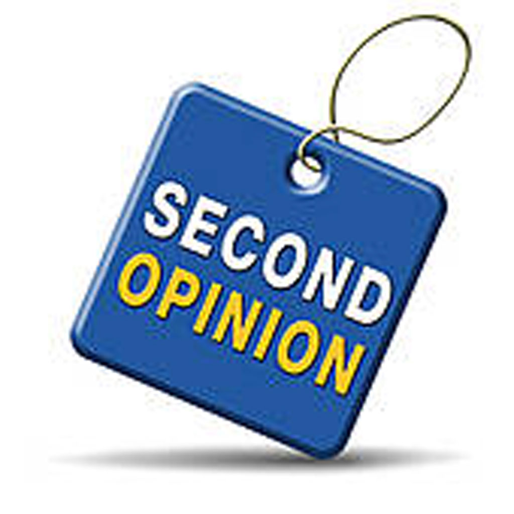 Secon opinion